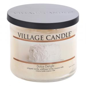 Village Candle Dolce Delight 3 Wick Candle