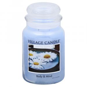 Village Candle Spa Collection Body & Mind Jar