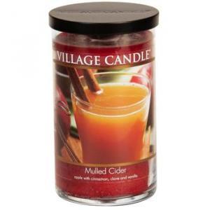 Large Village Candle Decor Mulled Cider 19oz