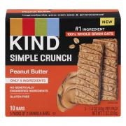 Kind Simple Crunch Peanut Butter Granola Bars
