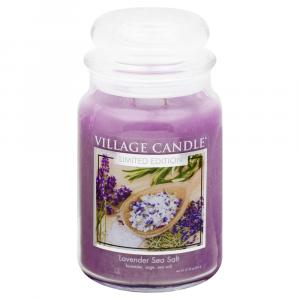 Village Candle Spa Collection Lavender Sea Salt Jar