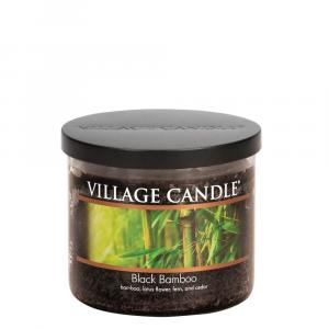 Village Candle Black Bamboo 3 Wick Candle