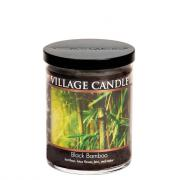 Village Candle Decor Black Bamboo