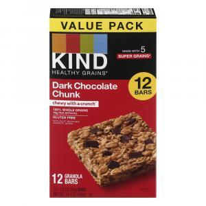 Kind Dark Chocolate Chunk Granola Bars Value Pack