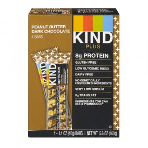 Kind Peanut Butter And Dark Chocolate Protein Bars