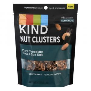 Kind Nut Clusters Dark Chocolate Nuts & Sea Salt