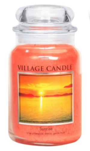 Village Candle Sunrise Candle