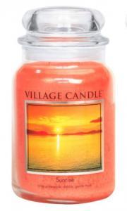 Village Candle Sunrise Candle