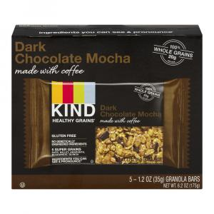 Kind Dark Chocolate Mocha Granola Bars