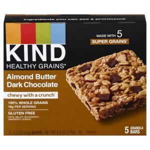 Kind Healthy Grains Almond Butter Dark Chocolate