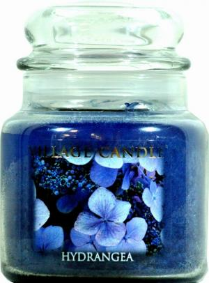 Village Candle Hydrangea 16 Oz. Candle