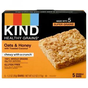 Kind Healthy Grains Oats and Honey Granola Bars