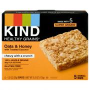 Kind Healthy Grains Oats and Honey Granola Bars