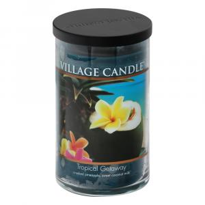 Village Candle Decor Tropical Getaway