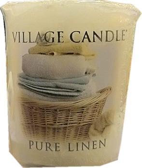 Village Candle Pure Linen Votive Candle