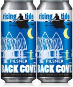Rising Tide Brewing Company Back Cove Pilsner