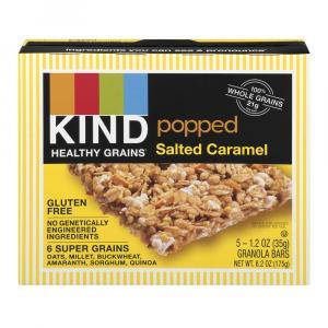 Kind Popped Salted Caramel Granola Bars