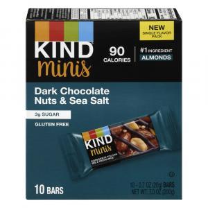 Kind Minis Dark Chocolate Nuts & Sea Salt
