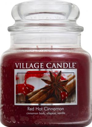 Village Candle Red Hot Cinnamon