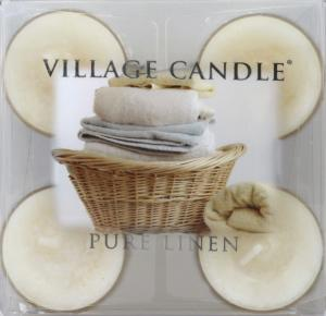 Village Candle Tea Light Pure Linen