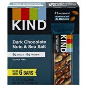 Kind Dark Chocolate with Nuts & Sea Salt