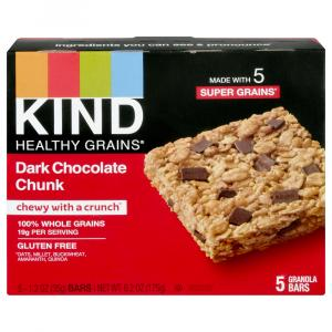 Kind Dark Chocolate Chunk Granola Bars