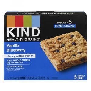 Kind Vanilla Blueberry Healthy Grains Bars
