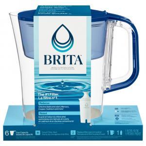 Brita Soho Color Series Red Pitcher