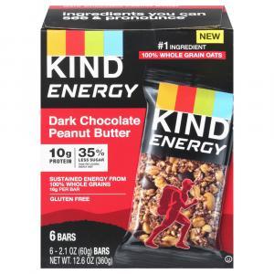 Kind Dark Chocolate Peanut Butter Energy Bars