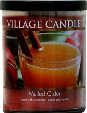 Village Candle Decor Mulled Cider 14 Oz.