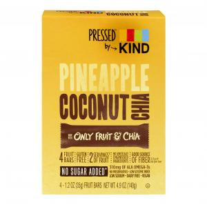Kind Pineapple Coconut Chia Bars