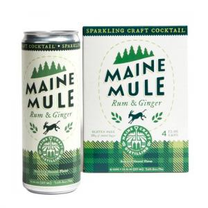 Maine Craft Distilling Maine Mule Rum & Ginger
