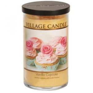 Village Candle Decor Vanilla Cupcake
