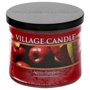 Village Candle 3 Wick Apple Pumpkin