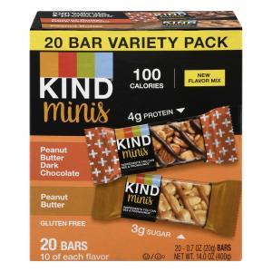 Kind Minis Peanut Butter Dark Chocolate & Peanut Butter Bars