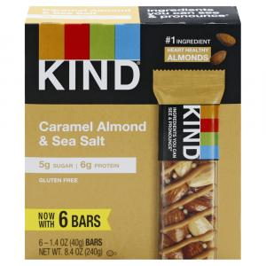 Kind Caramel & Almond with Sea Salt Bars