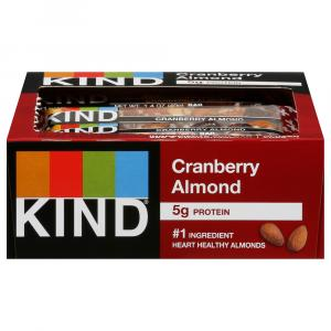 Kind Cranberry Almond With Macadamia Nuts