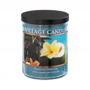 Village Candle Decor Tropical Getaway