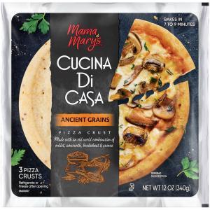 "Mama Mary's Cucina Di Casa 7"" Ancient Grains Pizza Crust"