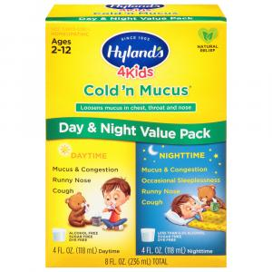 Hyland's 4Kids Cold 'N Mucus Day & Night Value Pack