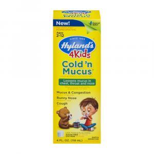 Hyland's 4Kids Cold 'N Mucus