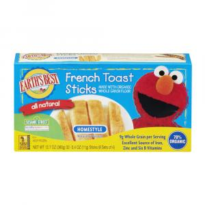 Earths Best French Toast Sticks