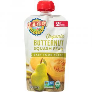Earth's Best Organic Butternut Squash Pear Food Puree