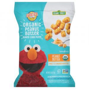Earth's Best Organic Sesame Street Baked Corn Puffs
