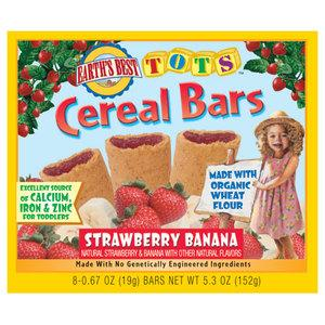 Earth's Best Strawberry Banana Cereal Bars