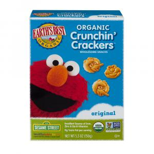Earth's Best Organic Crunchin' Original Crackers