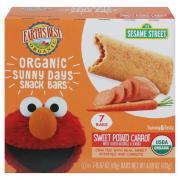 Earth's Best Sesame Street Organic Sunny Day's Snack Bars