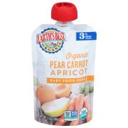 Earth's Best Organic Pear Carrot Apricot Baby Food Puree