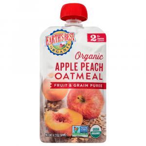 Earth's Best Organic Apple Peach Oatmeal