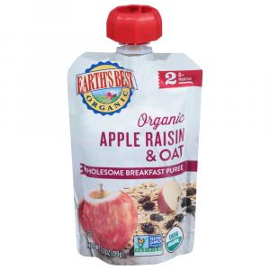 Earth's Best Organic Wholesome Breakfast Apple Raisin